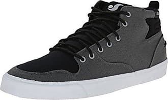 DVS Apparel Quentin, Zapatillas de Skateboarding para Hombre, Noir (Black Waxed Canvas), 42 EU