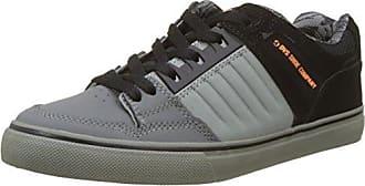 DVS Shoes Portal, Zapatillas Para Hombre, Grau (Charcoal Grey Leather), 48.5 EU