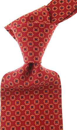 Ties On Sale, Dark Oxblood Red, Silk, 2017, one size E. Marinella