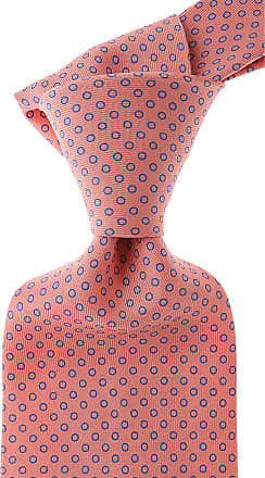 Ties On Sale, Coral Red, Silk, 2017, One Size E. Liens En Vente, Rouge Corail, La Soie, 2017, Taille E. Marinella Marinella