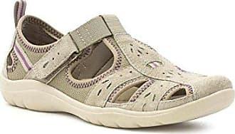 Khakifarbiger beiläufiger Sport-Schuh für Frauen durch Größe 4 UK/37 EU - Grün Earth Spirit It61HXVJ