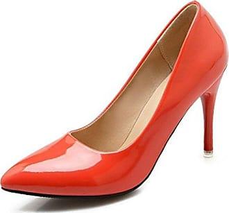 SHOWHOW Damen Elegant Low Top Spitz Zehe High Heels Pumps Beige 38 EU WL6FM7CnGX