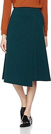 Eastex Ponte Faux Wrap, Falda para Mujer, Verde (Green 44502339), 42