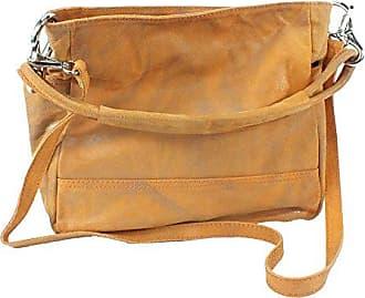 5142 East Line Leder Handtasche Schultertasche beige Maße ca. 25x26cm Eastline EzdSF5