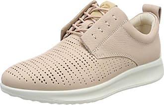 Ecco Touch, Zapatos de Cordones Brogue para Mujer, Rosa (Rose Dust), 37 EU Ecco
