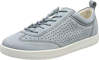 Ecco Genna, Zapatillas para Mujer, Gris (Moon Rock/Warm Grey), 35 EU