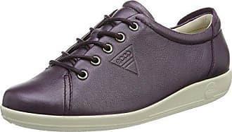 Ecco Soft 2.0, Zapatos de Cordones Derby para Mujer, Azul (Dark Petrol), 38 EU Ecco