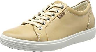 Ecco Soft 7, Sneakers Basses Femme, Beige (Powder), 38 EU