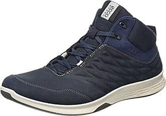 Ecco Yura Men's, Chaussures de Fitness Homme, Bleu - Blau (Black/TRUE Navy), 45