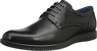 Ecco Aurora, Zapatos de Cordones Derby para Hombre, Azul (Marine), 43 EU Ecco