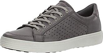 Ecco Damen Soft 7 Ladies Slip on Sneaker, Grau (Magnet), 35 EU