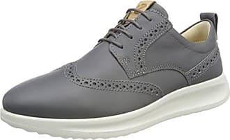 Ecco Soft 2.0, Zapatos de Cordones Brogue para Mujer, Gris (Warm Grey), 43 EU Ecco