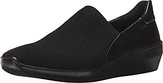 Ecco Damen Soft 5 Slipper, Schwarz (Black/Black), 35 EU