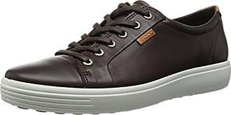 Ecco ECCO FRASER - Zapatillas de cuero para hombre marrón marrón, color marrón, talla 39 EU (6 Herren UK)