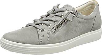 Ecco Soft 7, Sneakers Basses Femme, Gris (Wild Dove), 42 EU
