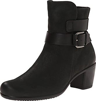Ecco Damen Shape 55 Plateau Stiefel, Schwarz (Black-Black/Black), 42 EU