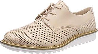 Ecco Vitrus Aquet, Zapatos de Cordones Brogue para Hombre, Marrón (Amber), 43 EU