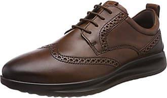 Ecco Minneapolis, Zapatos de Cordones Derby para Hombre, Marrón (Mink), 42 EU