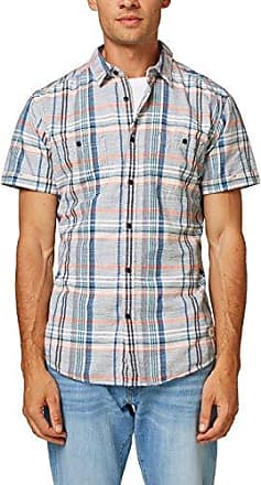 107cc2f009, Camisa para Hombre, Azul (Navy 400), Medium EDC by Esprit