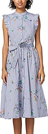 048cc1e044, Robe Femme, Multicolore (Blue 430), 38 (Taille Fabricant: 36)EDC by Esprit