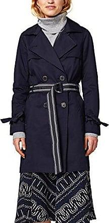 EDC by Esprit 018cc1g014, Abrigo para Mujer, Azul (Navy 400), Medium