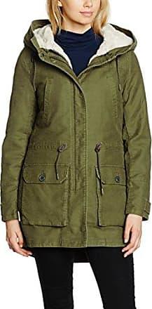 Glamorous Faux Fur Trim Parka, Abrigo para Mujer, Verde (Khaki), 38 (Tamaño Fabricante:Small)