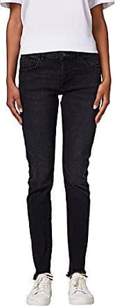 EDC by Esprit 028cc1b011, Vaqueros Skinny para Mujer, Negro (Black Rinse 910), W28/L32 (Talla del Fabricante: 28/32)