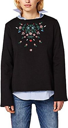 126CC2I017, suéter Hombre, Negro (Black), X-Small EDC by Esprit