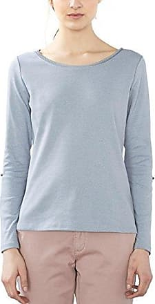 EDC by Esprit 106cc1k048, Camisa para Mujer, Azul (Navy 5), 34 (Talla del Fabricante: X-Small)