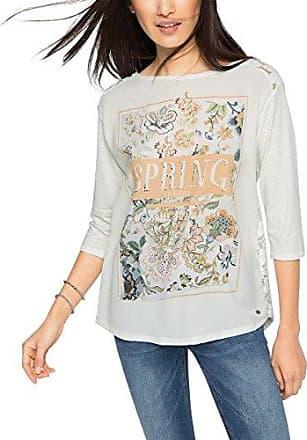 Betty Co 0505/0274-Camiseta Mujer Mehrfarbig (Beige/Blue 7884) 42 V5417yLU