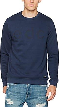 117cc2i002, Suéter para Hombre, Azul (Navy 400), Small EDC by Esprit