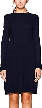 aus Strick, Robe Femme, Bleu (NAVY), 42 (Taille fabricant: X-Large)EDC by Esprit