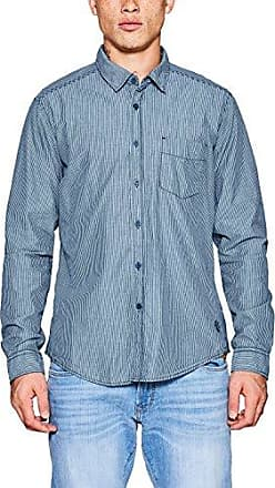 067cc2f004, Camisa para Hombre, Azul (Navy 400), Small EDC by Esprit