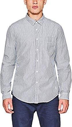 047cc2f010, Camisa para Hombre, Blanco (Off White), Medium EDC by Esprit