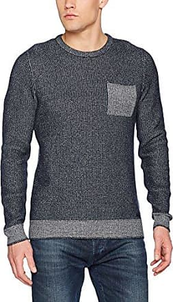 087cc2i009, Pull Homme, Bleu (Navy 400), FR:L(Taille fabricant:Medium)EDC by Esprit