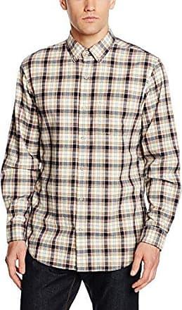 Doppellagiges Hemd, Chemise Homme, Bleu (Indigo), 51 (Taille Fabricant: XX-Large)Eddie Bauer