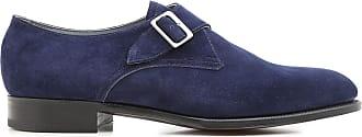 Loafers for Men On Sale, Indigo Blue, Suede leather, 2017, UK 7.5 - 8 UK 8 - 8.5 Edward Green