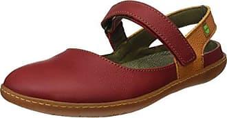 S.A N5270 Soft Grain El Viajero Sandalias con Punta Cerrada, Mujer, Rojo (Tibet/Carrot), 41 EU (8 UK) El Naturalista