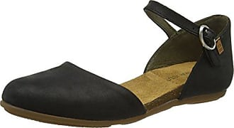 El Naturalista ND80 Bee, Mocassins Femme - Noir - Schwarz (Black), 36 EU