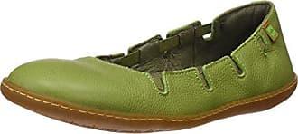 S.A N5272 Soft Grain El Viajero Zapatos con Plataforma Plana, Mujer, Naranja (Carrot), 41 EU (8 UK) El Naturalista