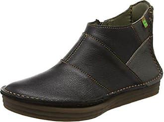 Nc50 Lux Suede Black/Quera Botas chukka, Mujer, Negro (Black), 37 EU (4 UK) El Naturalista