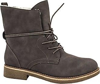 Damen Diane Biker Boots, Beige (Taupe), 36 EU Les P'tites Bombes