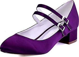 Damen Tanzschuhe, violett - 162 Purple - Größe: 38 Meijili