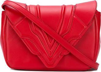 Handtasche mit ausgefranstem Saum - Blau Elena Ghisellini PmEHVm