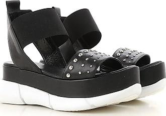 Sneakers for Women On Sale, Black, Fabric Stretch, 2017, 3.5 4.5 5.5 7.5 Elena Iachi