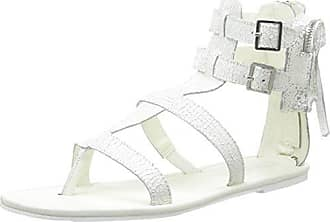 Eleven ParisSia - Sandali Donna, Bianco (Bianco (White)), 41