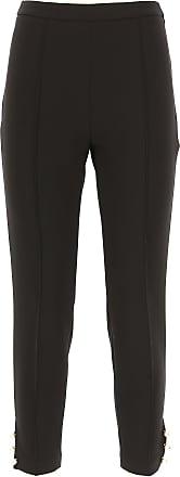 Pantalons Pour Les Femmes En Vente, Noir, Polyester, 2017, 12 30 Elisabetta Franchi