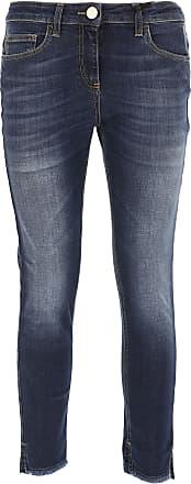 Jeans On Sale, Denim, Cotton, 2017, 26 27 28 29 30 Elisabetta Franchi