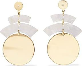 Elizabeth & James Elizabeth And James Woman Gold-tone Resin And Crystal Earrings Gold Size 7Z1dwcXrgb