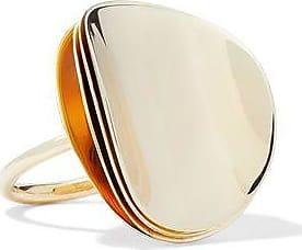 Elizabeth & James Elizabeth And James Woman Gold-tone Ring Gold Size 5 0v61Tj